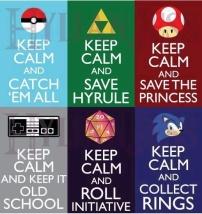 Keep Calm Video Game Meme
