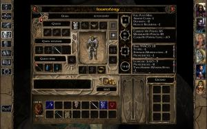 Baldur's Gate Interface