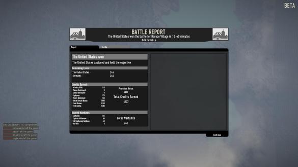 Heroes & Generals: Battle Report