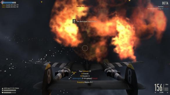 Heroes & Generals: Satisfying Plane Explosion