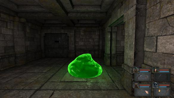 Legend of Grimrock: Luminous Blob Monster