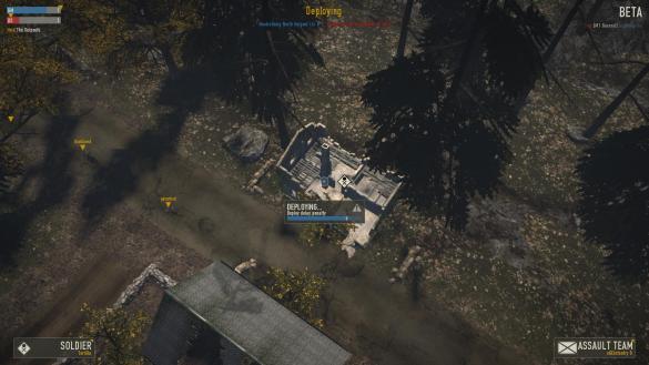 Heroes & Generals: Spawn Location