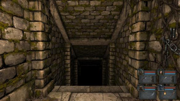 Legend of Grimrock: Stairs