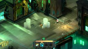 An image of the real time combat seen in Transistor.