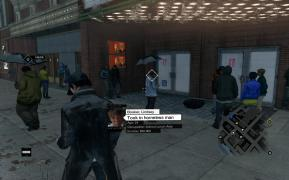 """Watch_Dogs Profile """"Took in homeless man"""""""