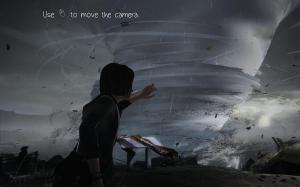 The tornado in Life is Strange Episode 1